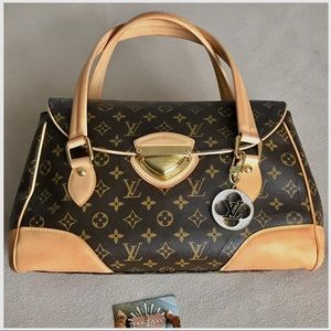 💯Authentic 😍💖❤️Louis Vuitton Beverly GM TV 1600